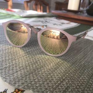 Madewell pink sunglasses